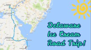 This Mouthwatering Ice Cream Trail In Delaware Is All You've Ever Dreamed Of And More