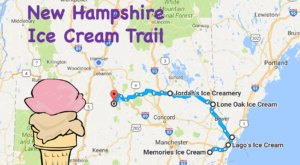 This Mouthwatering Ice Cream Trail In New Hampshire Is The Sweetest Adventure In The State