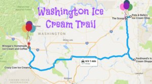 This Mouthwatering Ice Cream Trail In Washington Is The Sweetest Adventure In The State