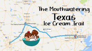 The Mouthwatering Ice Cream Trail In Texas Is All You've Ever Dreamed Of And More