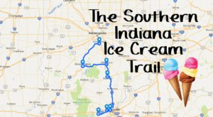 This Mouthwatering Ice Cream Trail In Southern Indiana Is All You've Ever Dreamed Of And More