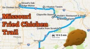 There's Nothing Better Than This Mouthwatering Fried Chicken Trail In Missouri