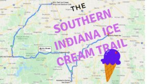This Mouthwatering Ice Cream Trail In Indiana Is The Sweetest Adventure In The State
