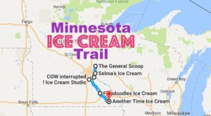 This Mouthwatering Ice Cream Trail In Minnesota Is The Sweetest Adventure In The State