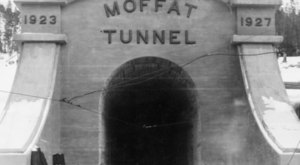 8 Stunning Photos Of The Moffat Tunnel Construction Near Denver