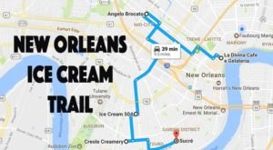 This Mouthwatering Ice Cream Trail In New Orleans Is All You've Ever Dreamed Of And More
