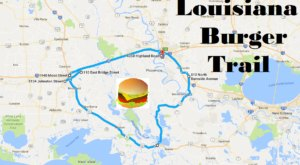 There's Nothing Better Than This Mouthwatering Burger Trail In Louisiana