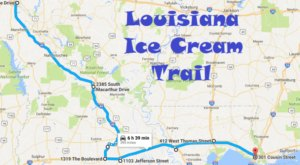 This Mouthwatering Ice Cream Trail In Louisiana Is All You've Ever Dreamed Of And More