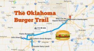 There's Nothing Better Than This Mouthwatering Burger Trail In Oklahoma