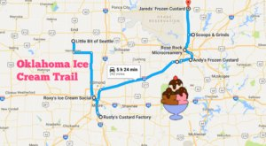 This Mouthwatering Ice Cream Trail In Oklahoma Is All You've Ever Dreamed Of And More