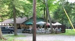 Tucked Away In A Pennsylvania Forest, The Forest Nook Restaurant Is An Underrated Gem