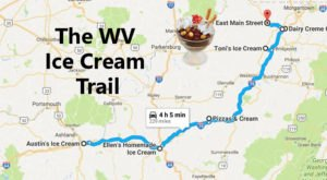 This Mouthwatering Ice Cream Trail In West Virginia Is All You've Ever Dreamed Of And More