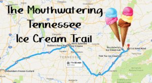 This Mouthwatering Ice Cream Trail In Tennessee Is All You've Ever Dreamed Of And More