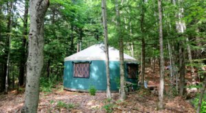 The Secluded Glampground In Maine That Will Take You A Million Miles Away From It All