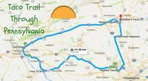 Your Tastebuds Will Go Crazy For This Amazing Taco Trail In Pennsylvania