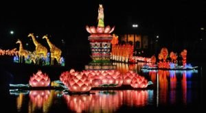 You Don't Want To Miss This Gorgeous Lantern Festival In New York This Year