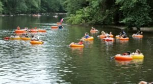 There's Nothing Better Than Delaware's Natural Lazy River On A Summer's Day
