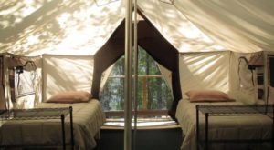 The Secluded Glampground In Minnesota That Will Take You A Million Miles Away From It All