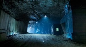 An Unexpected Marble Quarry Is Hiding Underground In This Mine In Vermont