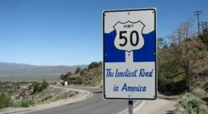 A Drive Down Nevada's Loneliest Road Will Take You Miles And Miles Away From It All