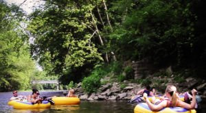 There's Nothing Better Than Ohio's Natural Lazy River On A Summer's Day