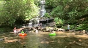 There's Nothing Better Than North Carolina's Natural Lazy River, Deep Creek, On A Summer's Day