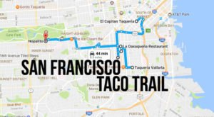 Your Tastebuds Will Go Crazy For This Amazing Taco Trail Through San Francisco