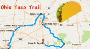 This Amazing Taco Trail In Ohio Takes You To 7 Tasty Restaurants