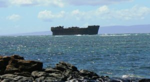 Here's The Story Of The Fascinating Shipwreck In Hawaii You Can View From Shore