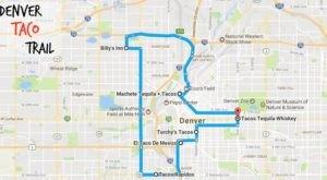 Your Tastebuds Will Go Crazy For This Amazing Taco Trail Through Denver