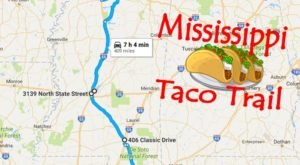 Your Tastebuds Will Go Crazy For This Amazing Taco Trail In Mississippi