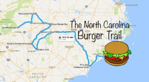 There's Nothing Better Than This Mouthwatering Burger Trail In North Carolina