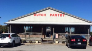 This Charming Restaurant In The Heart Of Amish Country Is An Oklahoma Dream