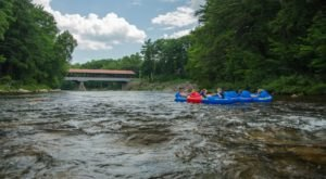 There's Nothing Better Than New Hampshire's Natural Lazy River On A Summer's Day