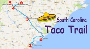 This Amazing Taco Trail In South Carolina Takes You To 6 Tasty Restaurants