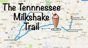 The Tennessee Milkshake Trail That's Perfect For A Summer Day Trip