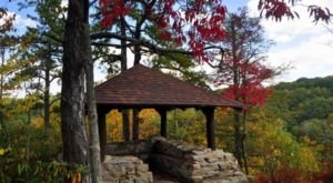 You'll Love The Hike To This Hidden Pavilion In West Virginia