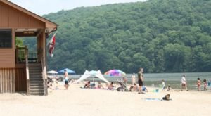 The Beach Near Pittsburgh That's Unlike Any Other In The World