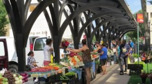 The Vibrant Farmers Market At Cameron Park In Wisconsin Has Delicious Goods