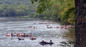 8 Lazy Rivers Around Washington DC That Are Perfect For Tubing On A Summer's Day