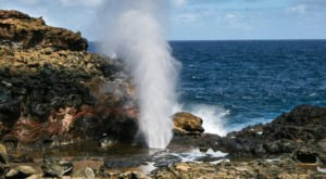 These 7 Mesmerizing Hawaii Blowholes Will Make Your Summer Epic