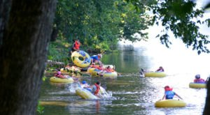 7 Lazy Rivers In Virginia That Are Ideal For Tubing On A Summer's Day