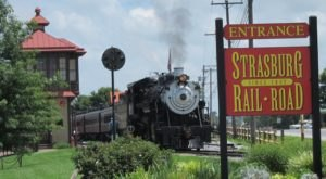 Embark On A Wine-Themed Train Ride With Strasburg Railroad In Pennsylvania