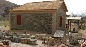 This Nevada Ghost Town Is The Bottle House Capital Of The World