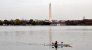 10 Perfect Places To Kayak And Canoe Around Washington DC This Summer