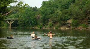 11 Little Known Swimming Spots In Arkansas That Will Make Your Summer Awesome