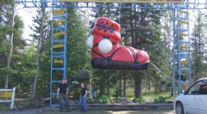 This Roadside Attraction In Alaska Is The Most Unique Thing You've Ever Seen