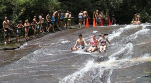 A Ride Down This Epic Natural Waterslide In North Carolina Will Make Your Summer Complete