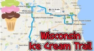 This Mouthwatering Ice Cream Trail In Wisconsin Is The Sweetest Adventure In The State
