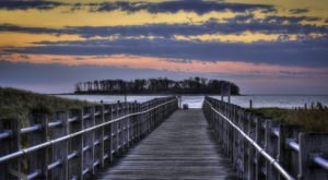 The Connecticut Beach That's Unlike Any Other In The World